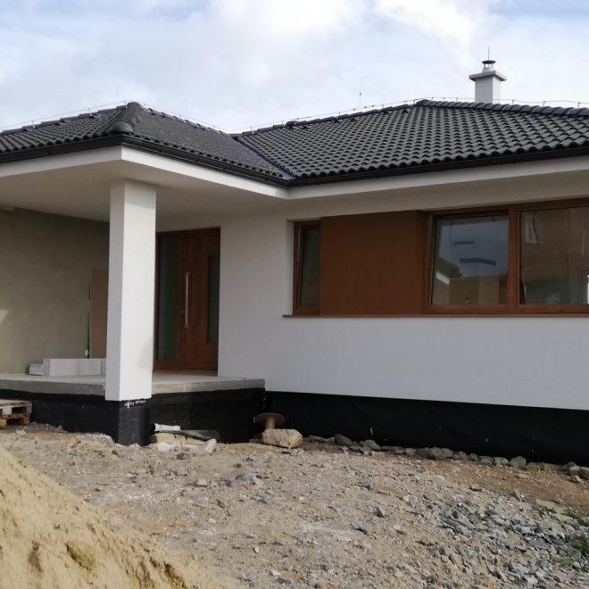 Montovaný dom na Spiši