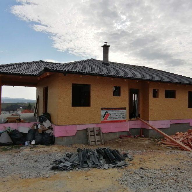 Montovaný dom v Rudníku