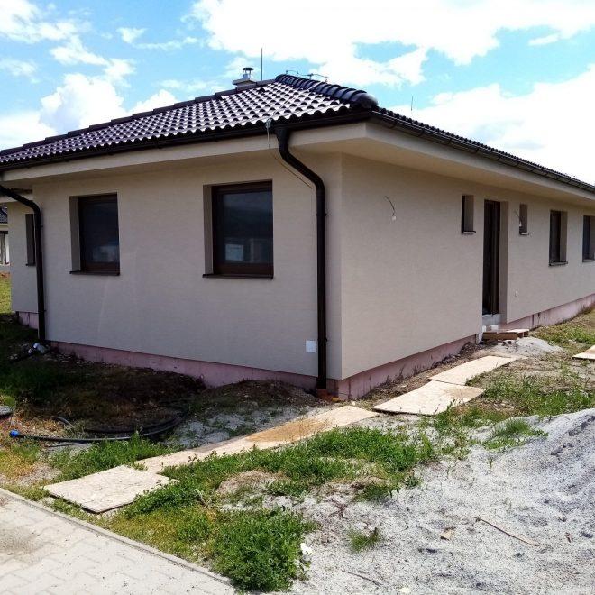 Montovaný dom v Zlatých Moravciach
