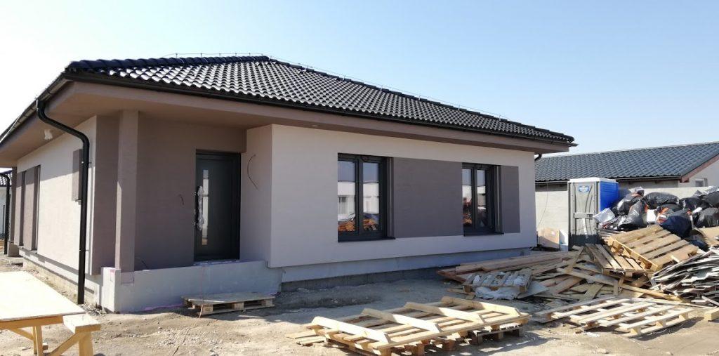 Montovaný dom v Hrubej Borši